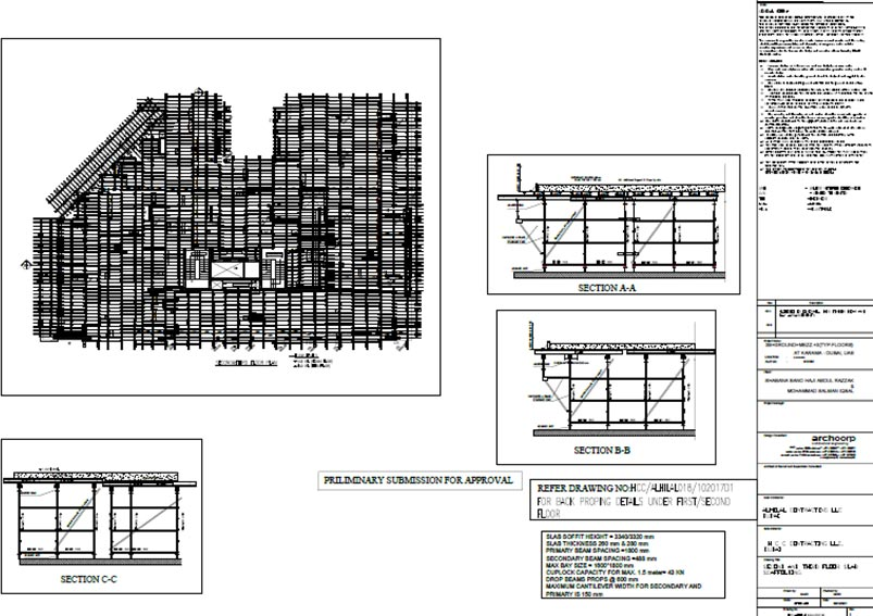 formwork engineering and formwork design services